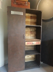 armoire vestiaire industriel loft palette