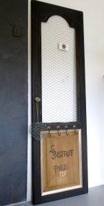 pèle-mêle / porte clefs / porte photo décoration bistrot