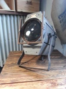 projecteur de cinéma vintage industriel