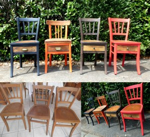 relooking chaises bistrot luterma