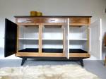 Buffet vintage bahut enfilade relooké dcosmose relooking meuble nantes vintage scandinave upcycling diy