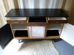 Buffet vintage bahut enfilade relooké dcosmose relooking meuble nantes vintage scandinave upcycling diy