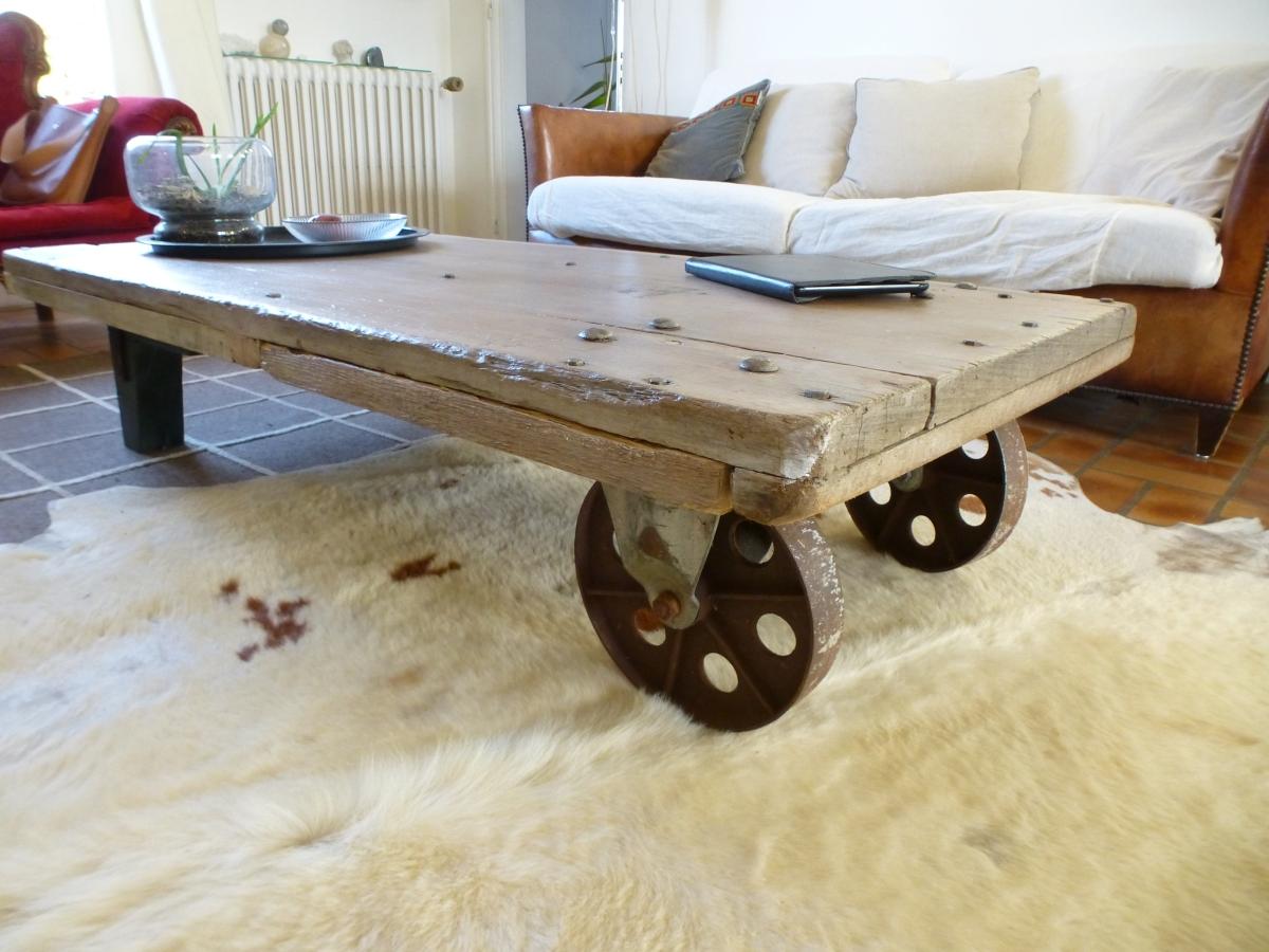 Relooker Table Basse Style Industriel Simple Table Basse Style Loft