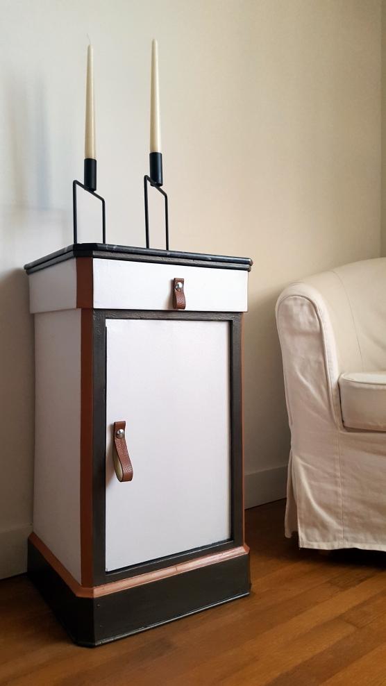bibliotheque vitrine vaisselier md vendre relook style. Black Bedroom Furniture Sets. Home Design Ideas